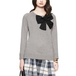 Kate Spade bow wool pullover sweater